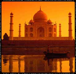 Taj in the evening